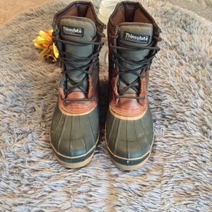 Thinsulate Thermal Insulated Boots Size 8